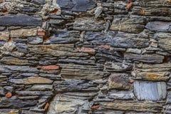 Gammal stenvägg Royaltyfria Bilder