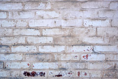 gammal stenvägg för tegelstenar Royaltyfri Bild