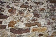 Gammal stenvägg II Royaltyfri Fotografi
