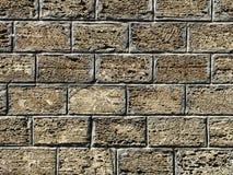 Gammal stenvägg, textur, bakgrund. Fotografering för Bildbyråer