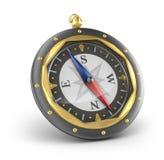 gammal stil för kompass Arkivbild