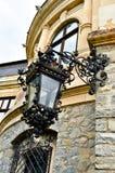 gammal stil för lampa Arkivbilder