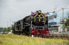 Gammal Stillahavs- ångalokomotiv royaltyfri fotografi