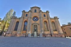 gammal stockholm sweden town Arkivbild