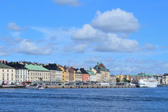 gammal stockholm town Arkivbilder