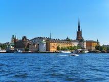 gammal stockholm town Arkivfoto