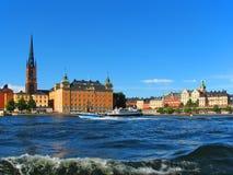 gammal stockholm town Royaltyfria Foton