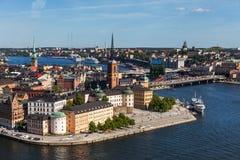 gammal stockholm town Arkivfoton