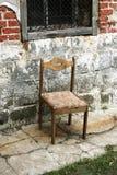 gammal stol Arkivbilder