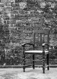 gammal stol Royaltyfri Foto