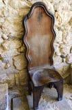 gammal stol Arkivfoton