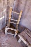 gammal stol Fotografering för Bildbyråer