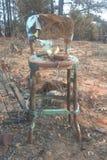 gammal stol Arkivfoto