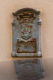gammal stolpe för ask Royaltyfri Bild