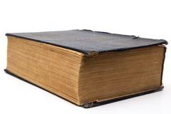Gammal stor stängd bok Royaltyfria Foton