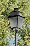 Gammal streetlamp Arkivfoto