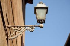 Gammal streetlamp Arkivbild
