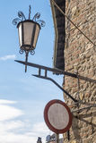 Gammal streetlamp Royaltyfri Fotografi