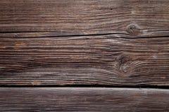Gammal strukturerad träbakgrund Arkivfoton