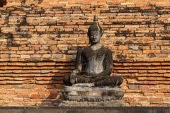 Gammal Sukhothai Buddha Arkivfoto