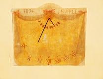 gammal sundial Royaltyfri Foto
