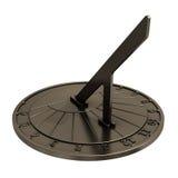 gammal sundial Arkivfoton