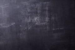 Gammal svart tavla i närbild med skrapor Fotografering för Bildbyråer