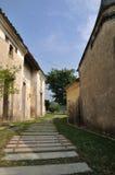 gammal sydlig by för porslin Royaltyfri Fotografi
