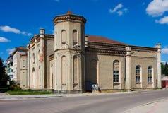 gammal synagoga Arkivbilder
