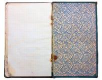 gammal tappning för anteckningsbok Royaltyfri Bild