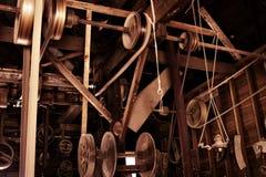 gammal tappning för antik fabrik Royaltyfria Foton