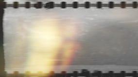 gammal tappning för bakgrund Gammal filmnedräkning, lager videofilmer