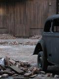 gammal tappning för bilhus Fotografering för Bildbyråer