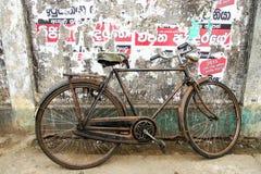 gammal tappning för cykel Arkivfoton