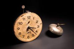 gammal tappning för klocka Arkivbild
