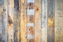 Gammal tappning Stly för träbruntbakgrund Royaltyfri Foto