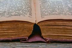 Gammal tappningRyss-tysk ordbok 1948 år av frigöraren Royaltyfria Bilder