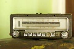 Gammal tappningstil för Retro radio Royaltyfri Fotografi