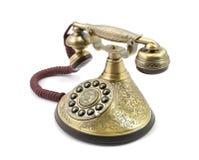 Gammal tappningtelefon Royaltyfri Fotografi