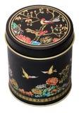 gammal tea för ask Royaltyfri Fotografi