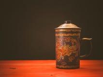 gammal tea för kopp Royaltyfria Foton