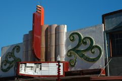 gammal teater Royaltyfri Foto