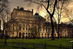 gammal teater för cracov Royaltyfria Bilder