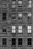 gammal tegelstenbyggnad Royaltyfri Bild