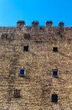 Gammal tegelstenbyggnad Royaltyfria Foton