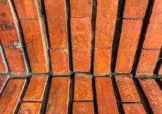 Gammal tegelstenvägg Royaltyfri Bild