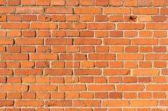 Gammal tegelstenvägg Royaltyfri Foto