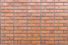 Gammal tegelstenvägg för texturbakgrund royaltyfri foto
