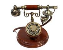 gammal telefon Arkivfoton