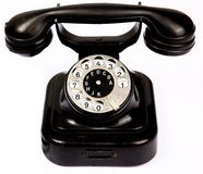 gammal telefon Arkivbilder
